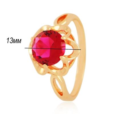 Кольцо 262 - качественная бижутерия, копии золотых украшений