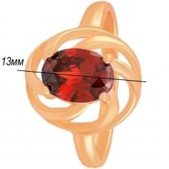 Кольцо 060 - стильный дизайн, безопасная медицинская сталь
