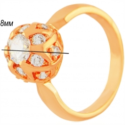 Кольцо 087 - недорого, стильный дизайн
